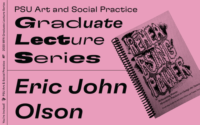 Poster for Eric Olson Lecture