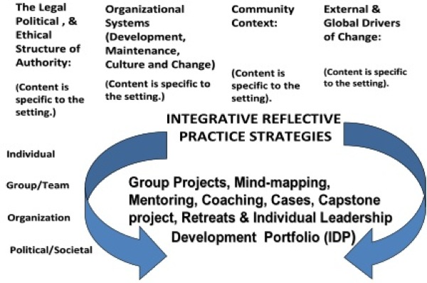 the leader co-production model