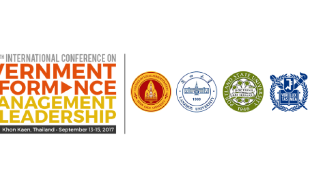 The 5th International Conference on Government Performance Management and Leadership Logos
