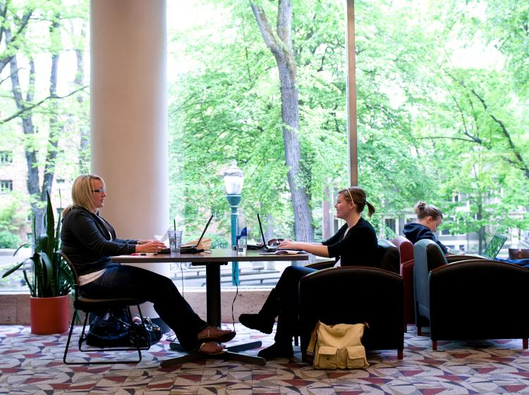 Find places to gather and relax in Smith Memorial Student Union.
