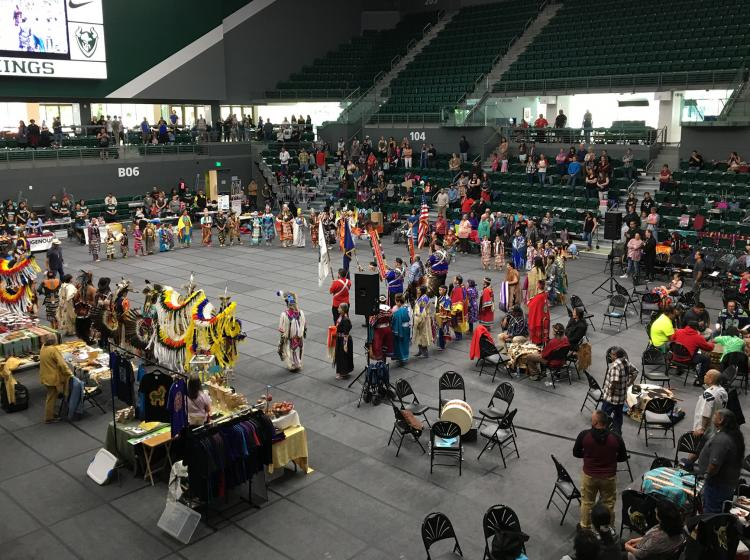 Viking Pavilion hosts student cultural events.
