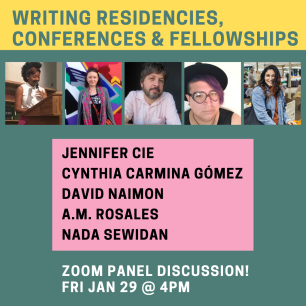 Writing Residences, Conferences, & Fellowships