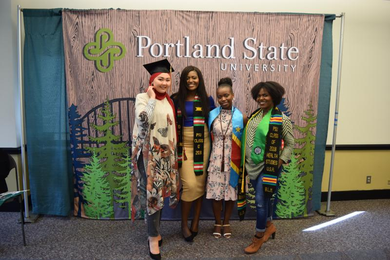Grads at the Multicultural Graduation