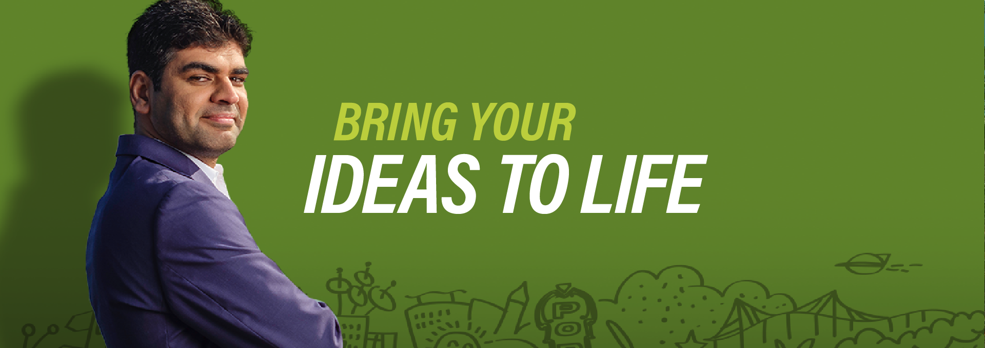 Bring your Ideas to Life Banner