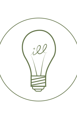 Illuminate logo with lightbulb.