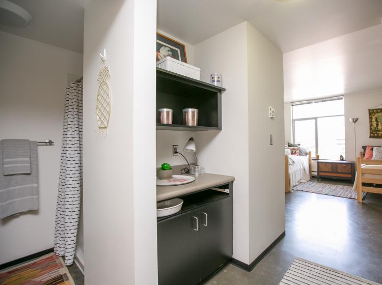 Small additional kitchenette area