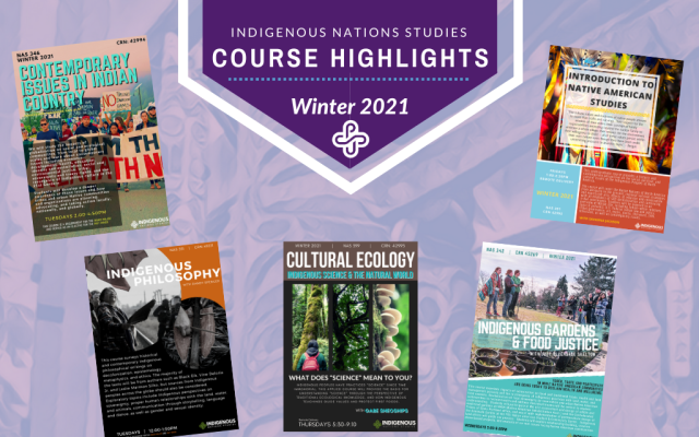 Winter 2021 Course Highlights