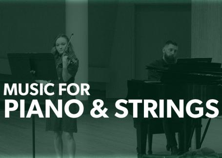 Piano & Strings title card