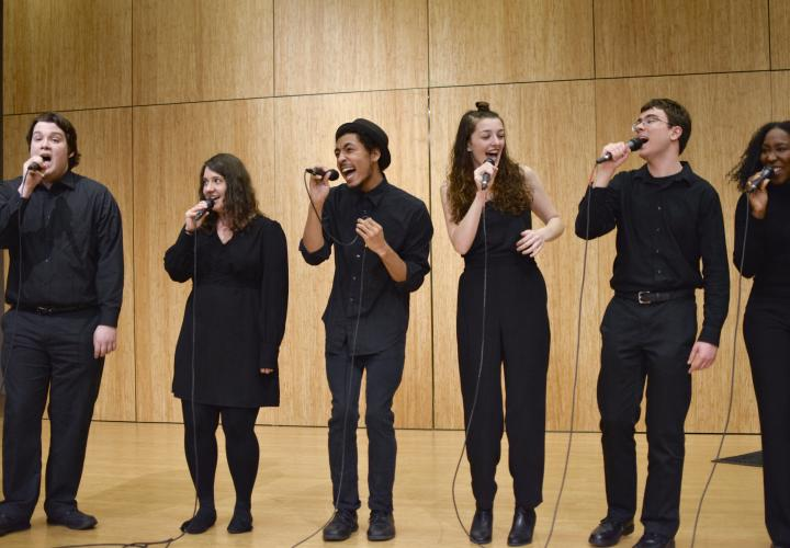 PSU Vocal Collective in performance