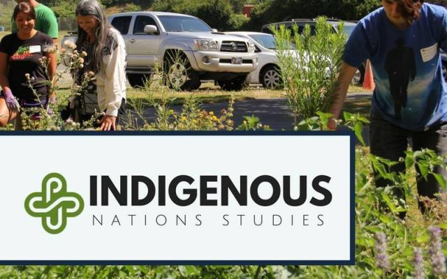 Indigenous Nations Studies on-site outdoor event