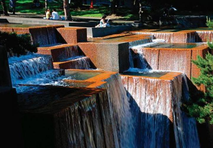 Keller fountain Portland Oregon