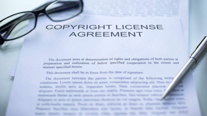 Copyright agreement
