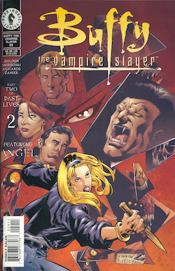 Buffy the Vampire Slayer comic cover