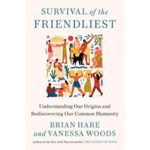 "Book cover for ""Survival of the Friendliest"""