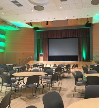 The Smith Ballroom can be used to host large-scale events.