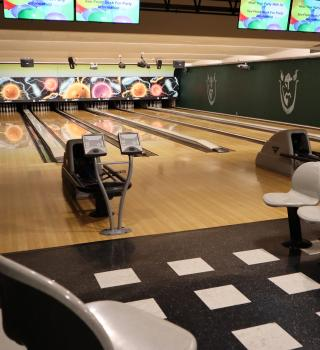 Smith's basement has its very own bowling alley for events or casual afternoons with friends.