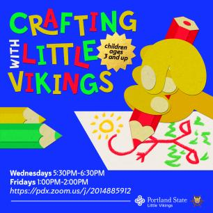 crafting with little vikings