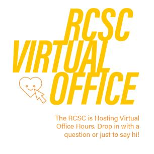 RCSC Virtual Office Hours