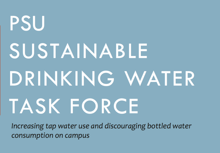 PSU Sustainable Drinking Water Task Force
