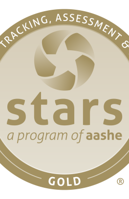 Sustainability tracking assessment and rating system stars a program of aashe gold