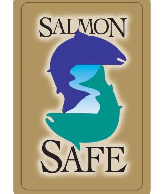 two fish salmon safe